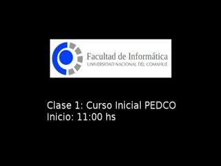 Curso PEDCO - Parte 1 Contenidos y organización del curso.  Elementos del aula virtual - Carina Fracchia