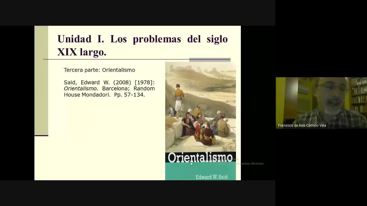 2.2 Clase Unidad I Orientalismo 7 de abril