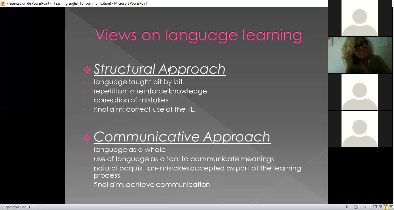 Profesorado de Inglés-Didáctica Especial 1 - Unit 1: Using the foreign language for communication - Clase 04/05/20 Parte 3