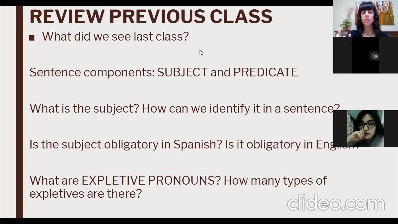 Grammar Module - Lesson 4th May Group 4