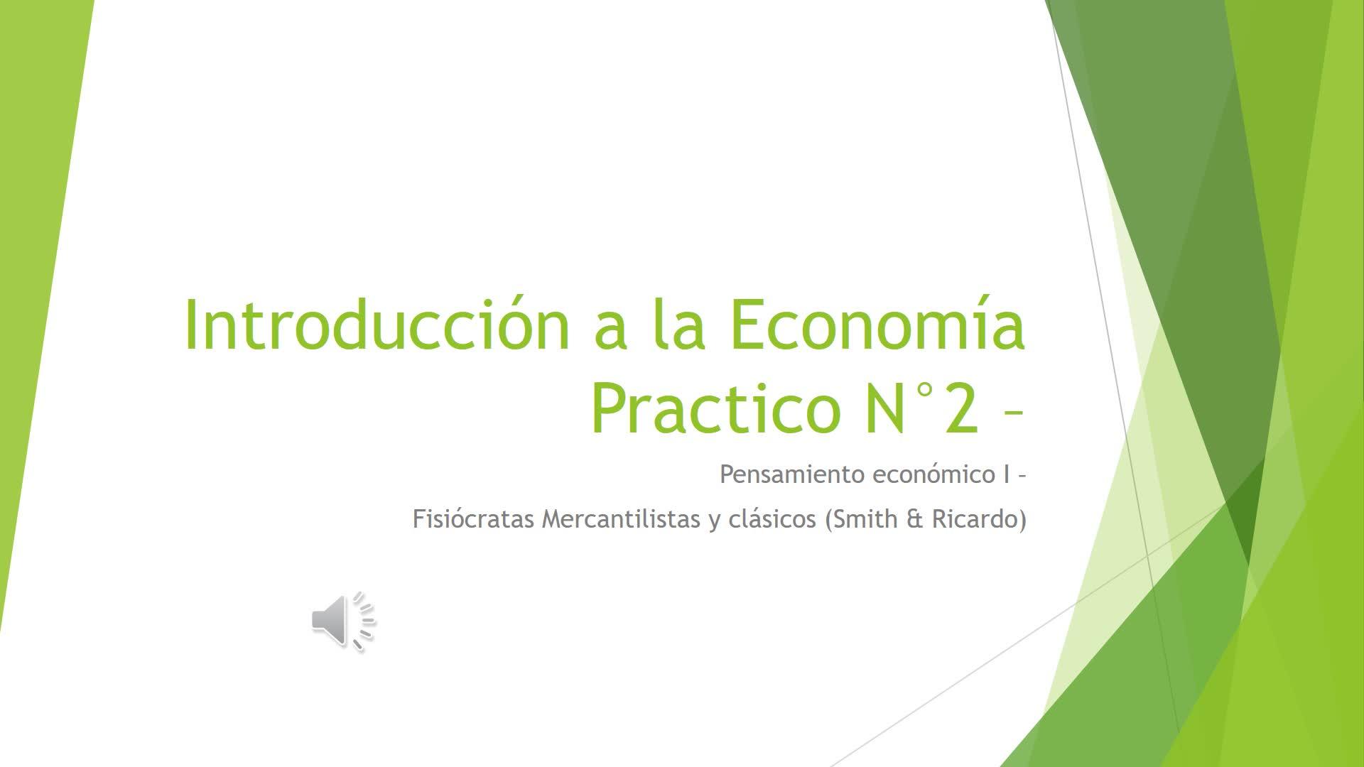 Clase Práctica Nº 2. Introducción a la Economía módulo Díaz