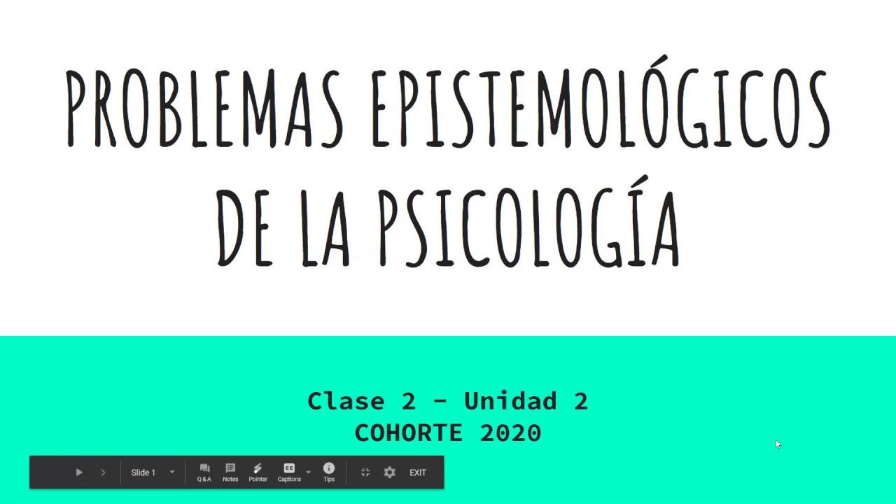 PEP2020 - Clase 2a - Unidad 2 - Concepcin heredada
