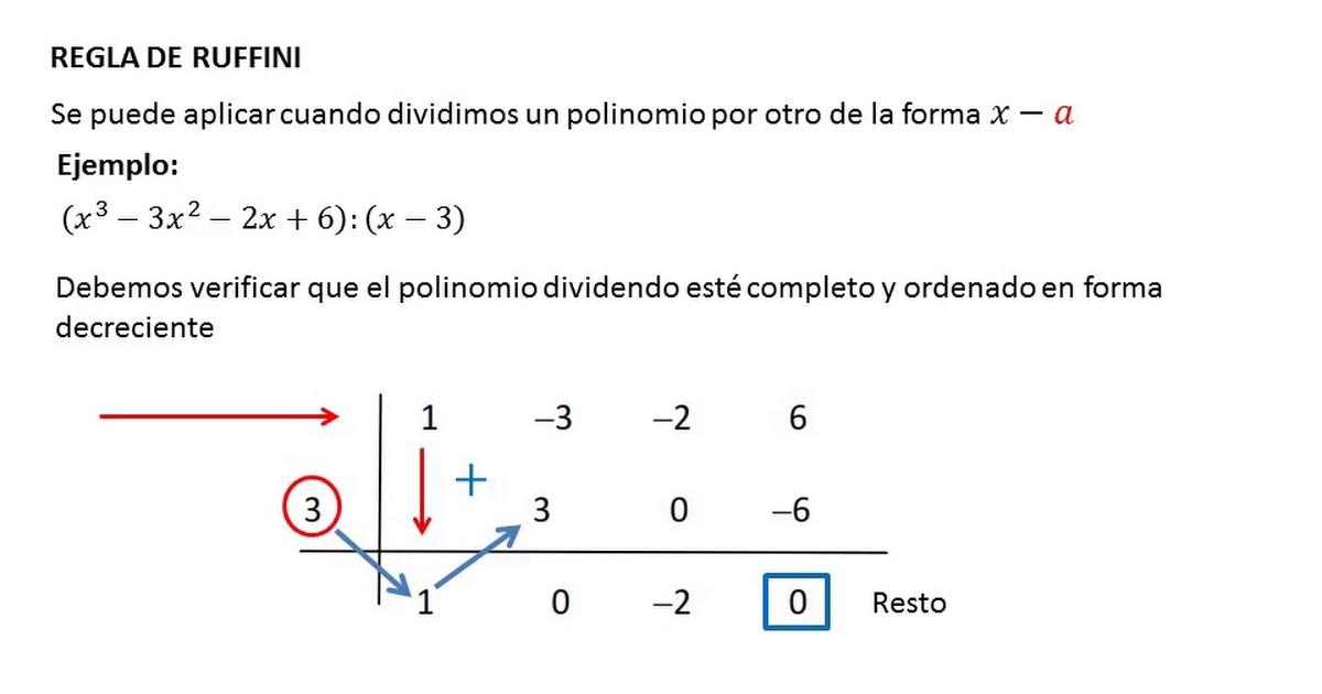 Matematica 1 - Expresiones algebraicas
