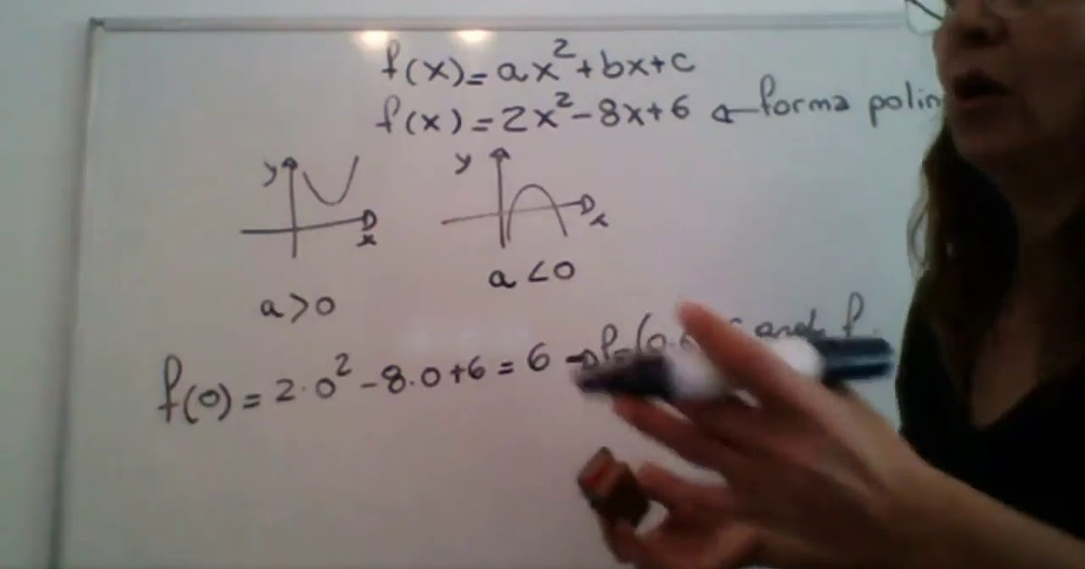 Matematica 1 - Funcion cuadratica  - 1 -