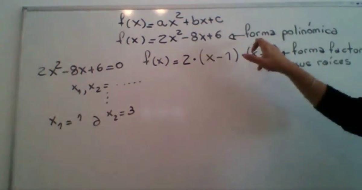 Matematica 1 - Funcion cuadratica - 2 -