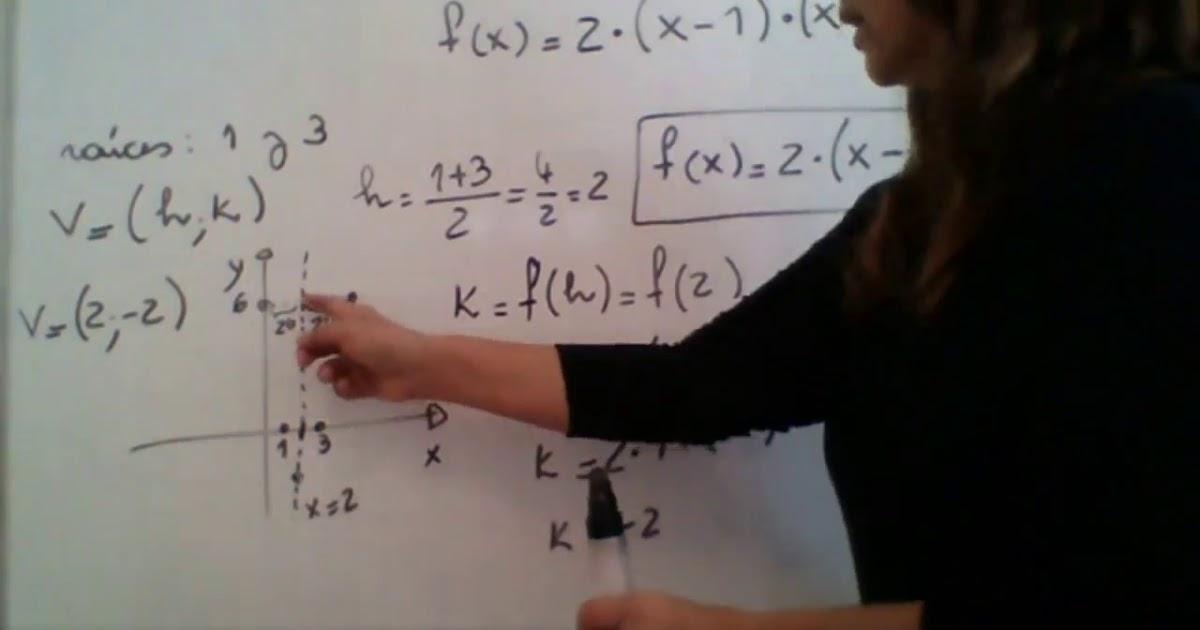 Matematica 1 - Funcion cuadratica - 3 -