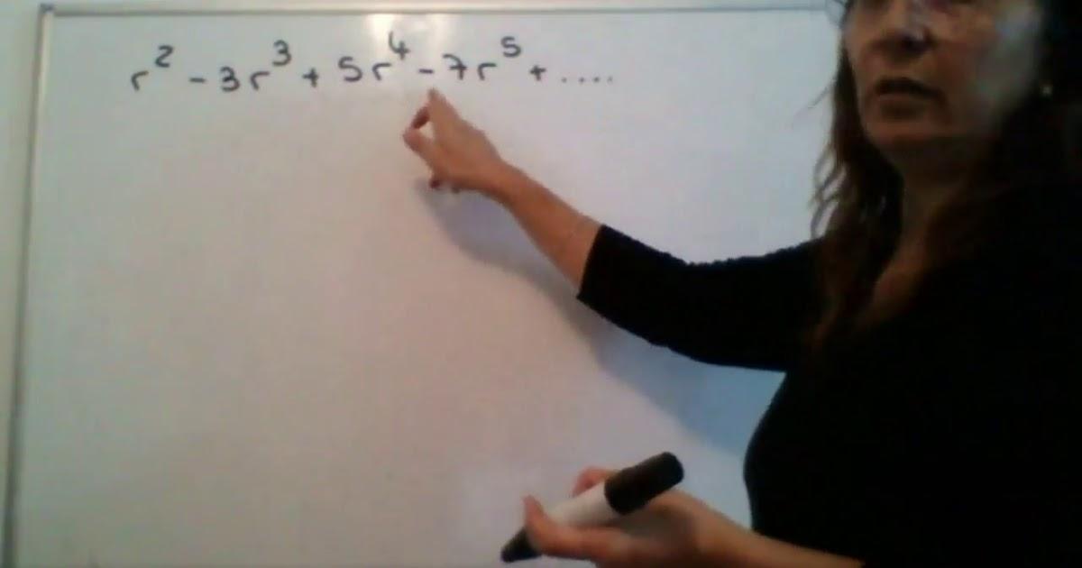 Elementos de Algebra - Sumatoria (clase del 6/5/2020)
