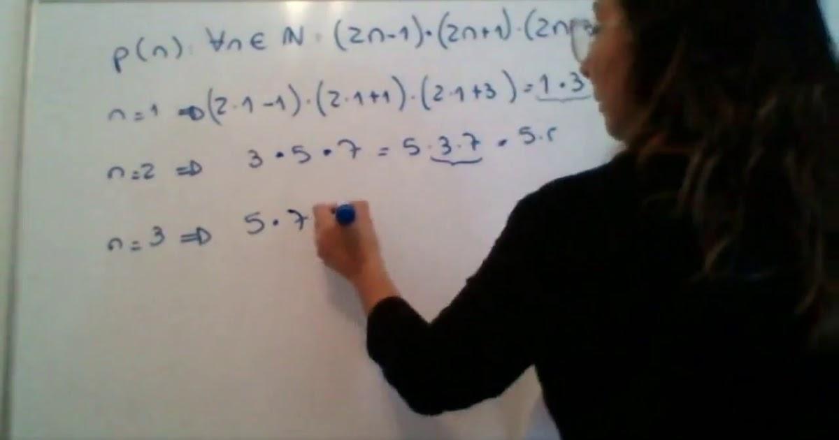 Elementos de AlgebraMetodo de induccion completa