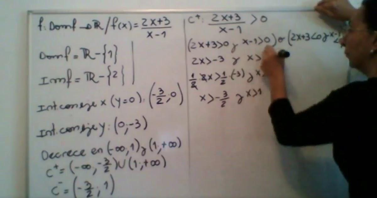 Matematica 1 - Funcionales racionales - parte 1