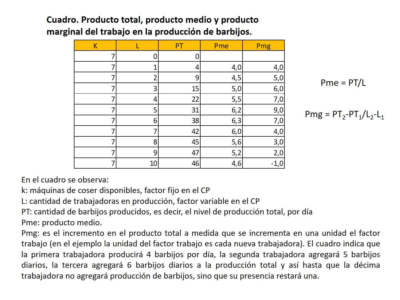 Clase 12. Función de producción a corto plazo. Segunda parte. Introducción a la Economía