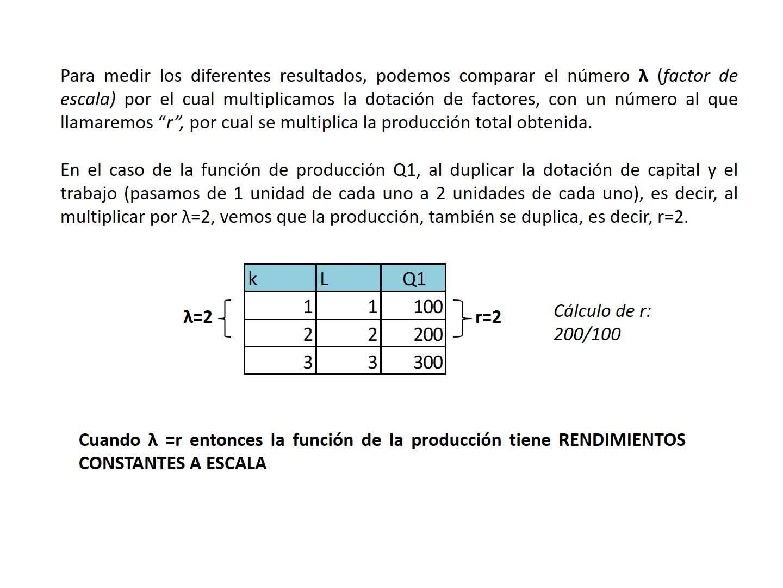Clase 13. Función de producción a largo plazo. Segunda parte. Introducción a la Economía