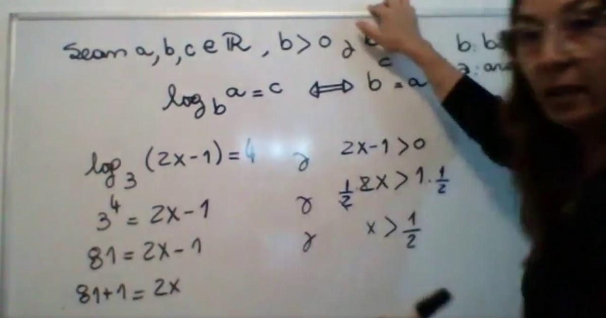 Matemtica 1 (M1) Ecuaciones logartmicas