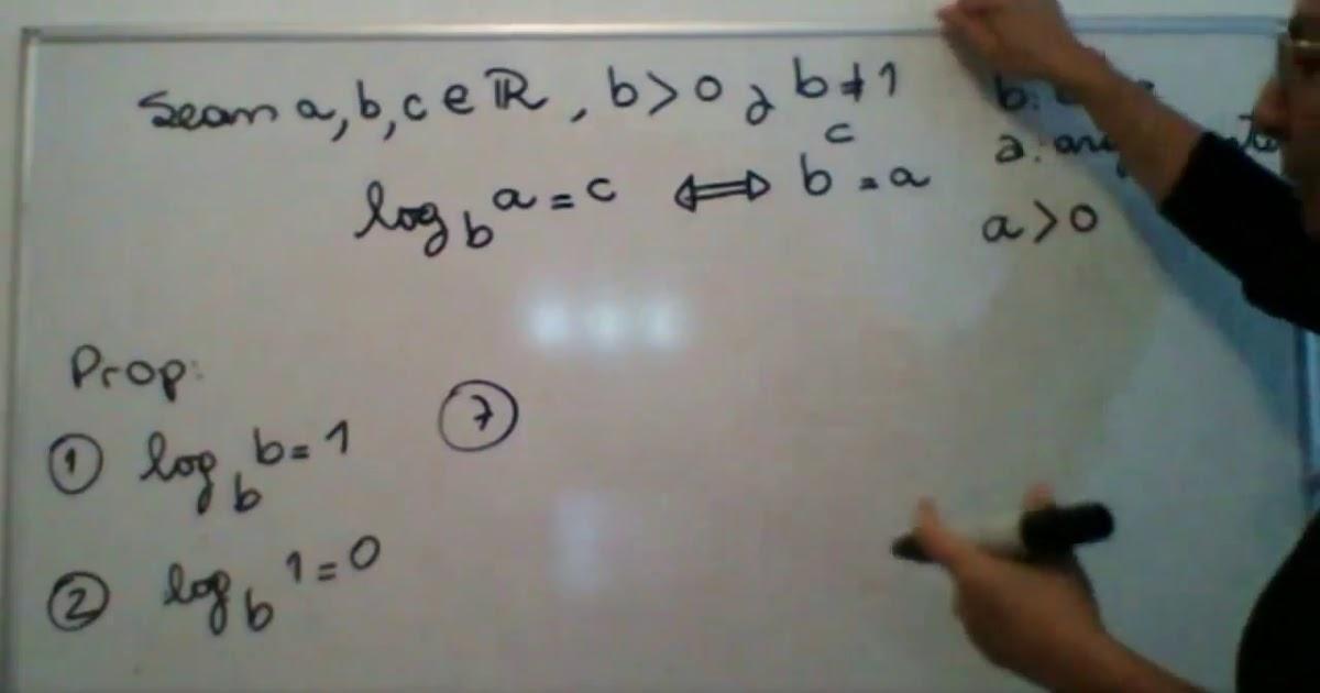 Matemtica 1 (M1) Logaritmo - definicion y propiedades