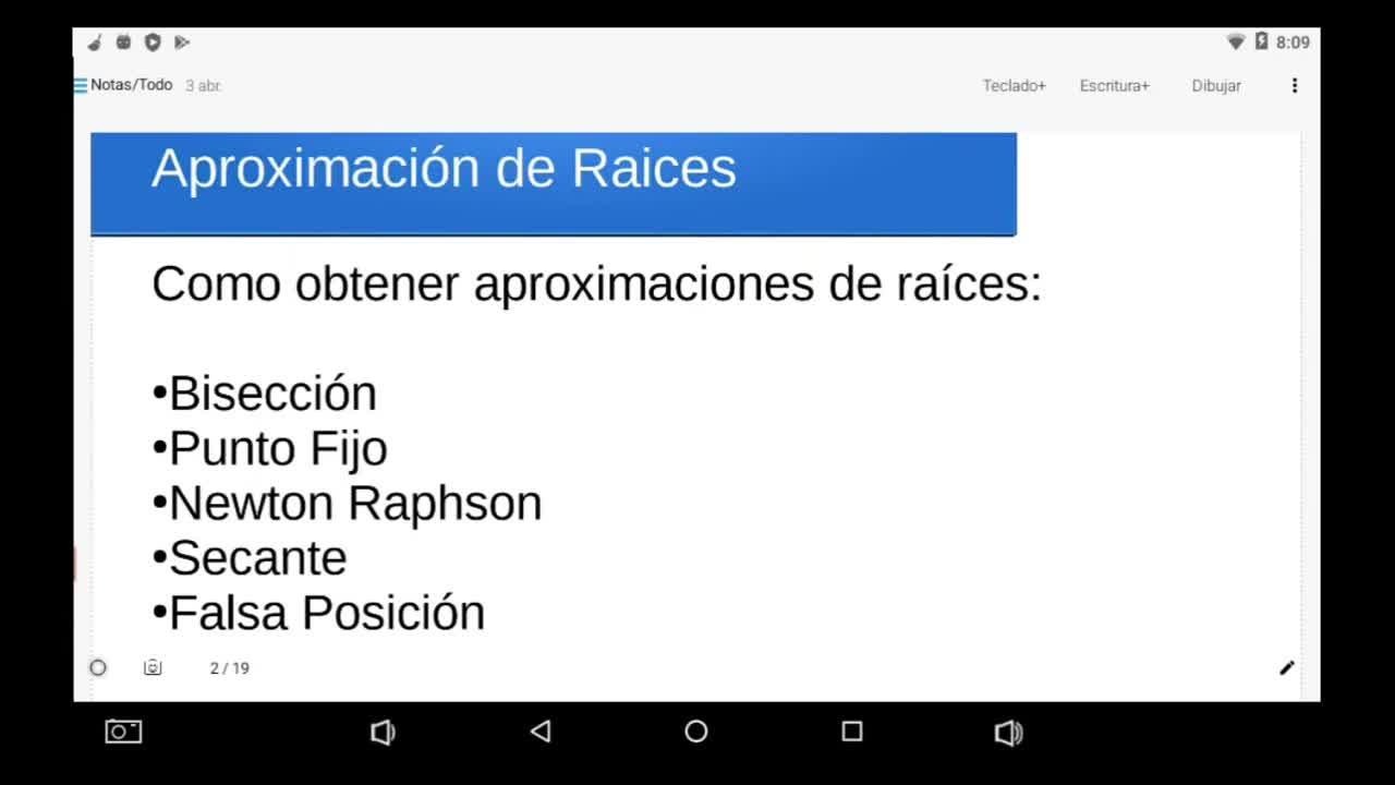 Aproximación de Raíces_ PracticaMartes