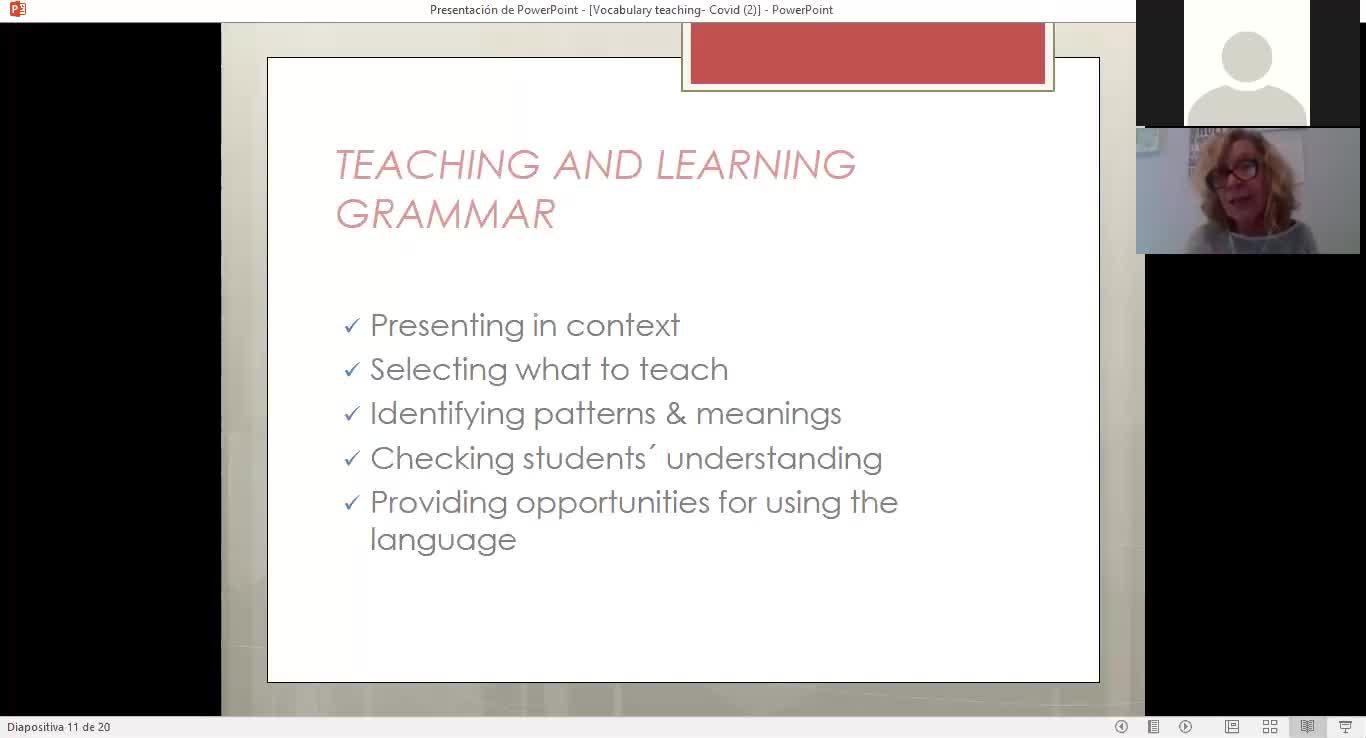 Teaching Grammar 21/05