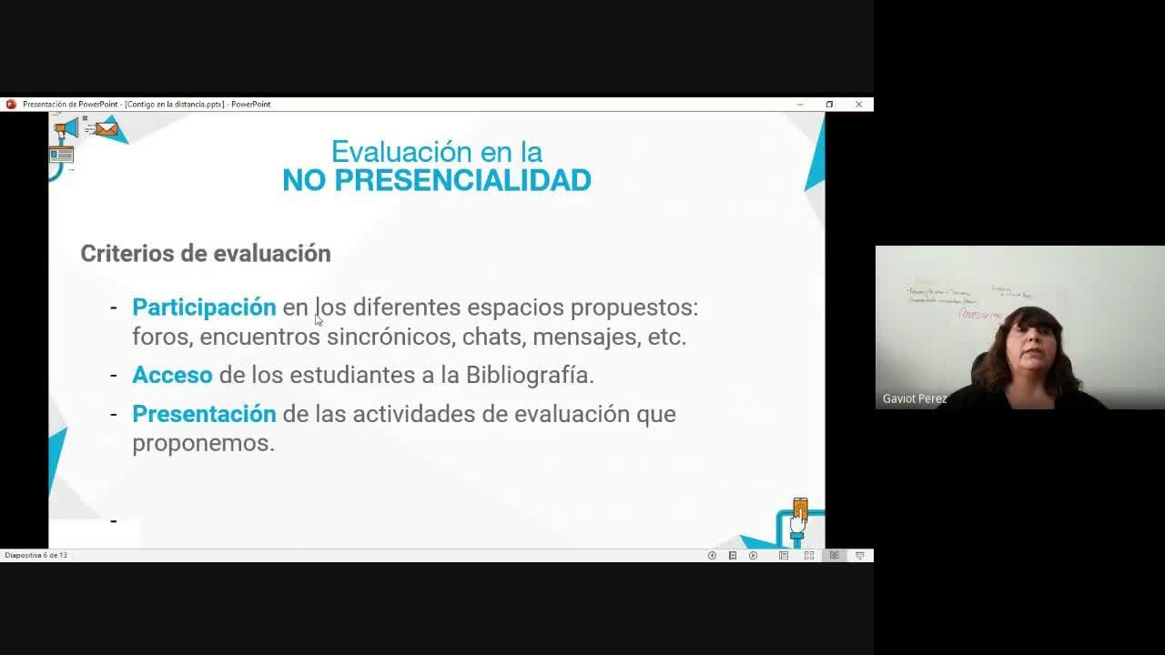 Webinar - Contigo en la Distancia - Fabiana Perez