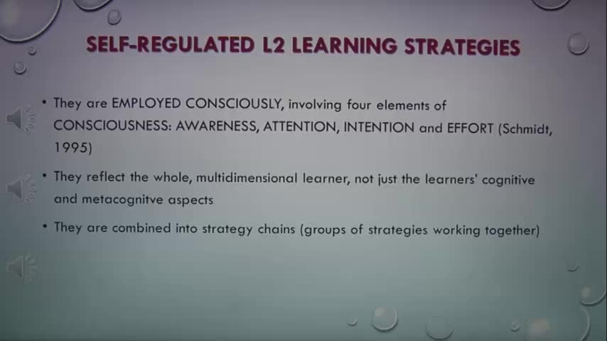 PPT Learning Strategies S2R model (Oxford, 2011)