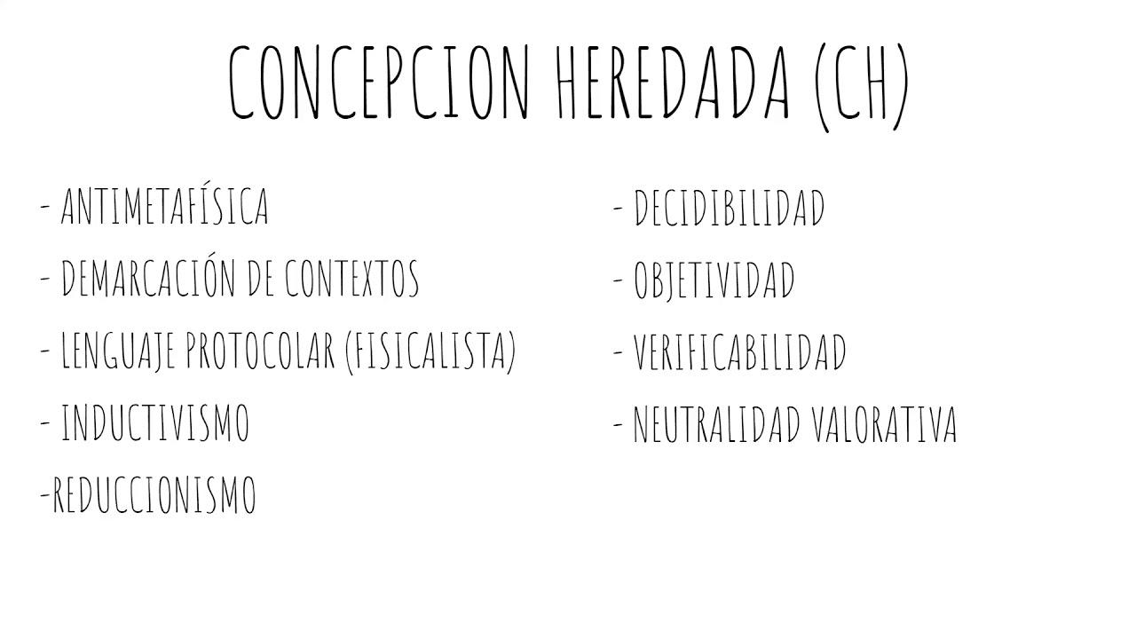 PEP2020 - Clase 2b - Unidad 2 - Concepcin heredada