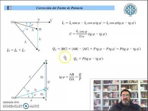 Tema 3 - Corrección Factor de Potencia