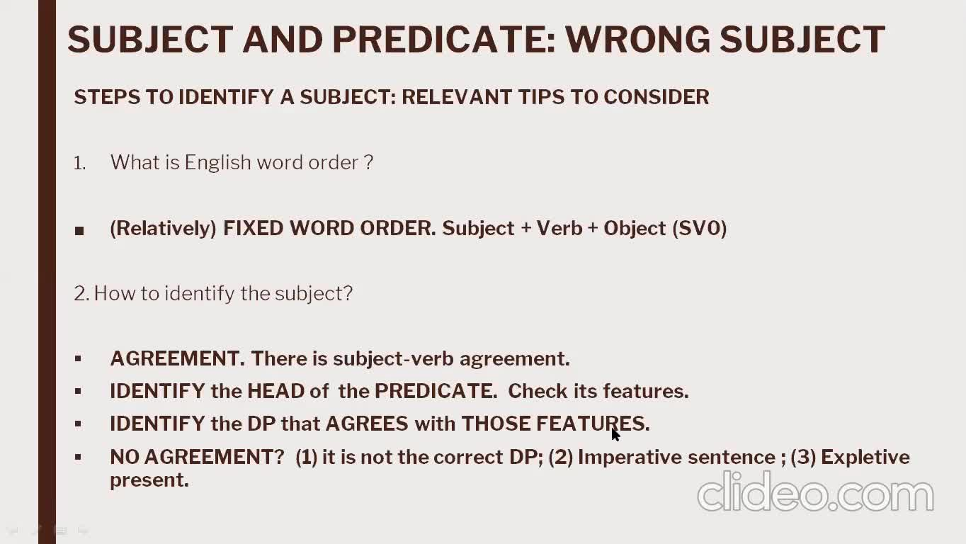 Grammar - Lesson June 8th