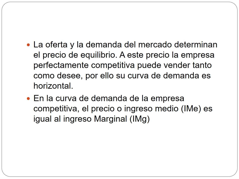 Clase 25. Competencia Perfecta