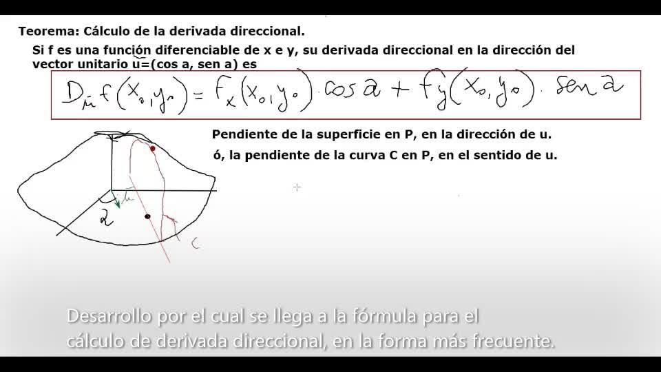 AUZA AMII Clase 48 2020-06-12 Derivada Direccional - ejemplos.