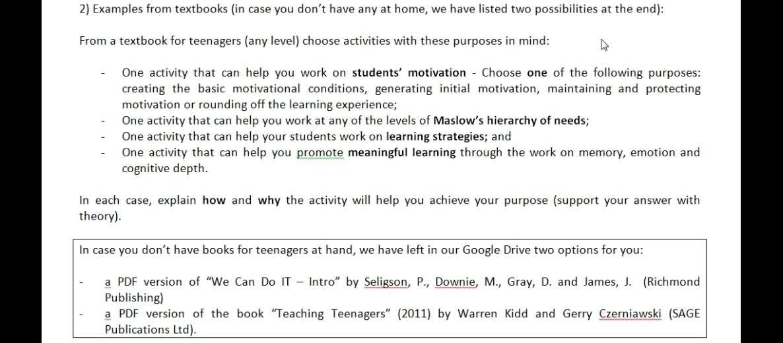 Integrative Written Assignment Unit 1
