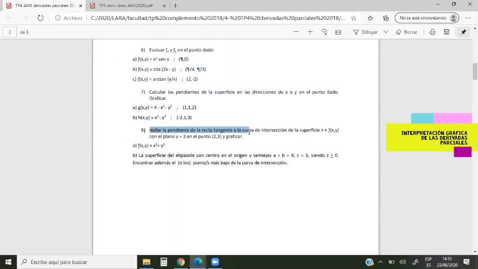 AUZA AMII Clase 52 2020-06-23 Foros-TP4 ej8-TP5 ej28