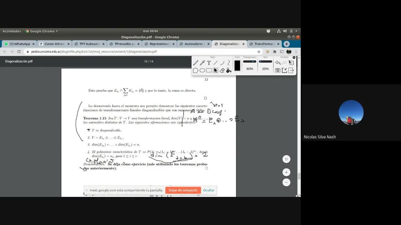 5Consulta Introducción al Álgebra Lineal- Álgebra lineal 1. 23 de junio