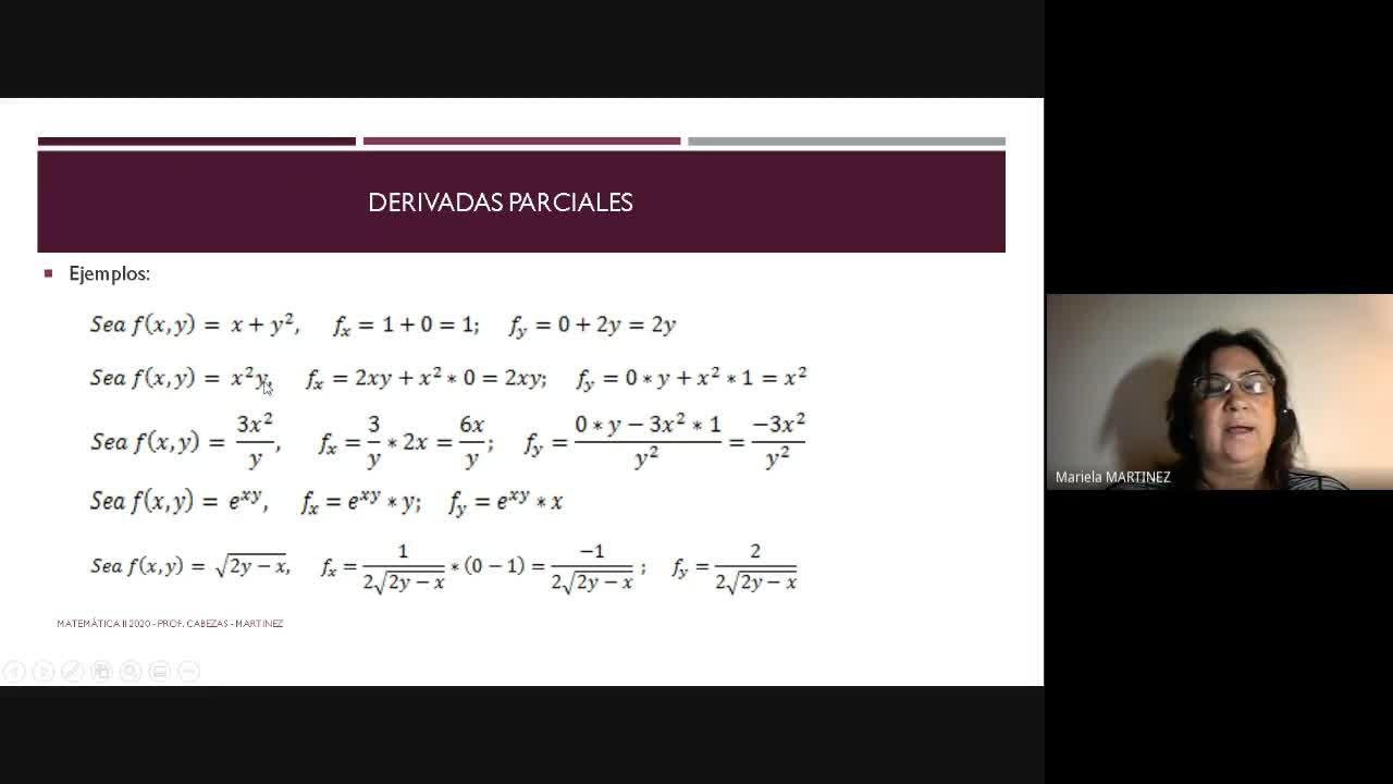 Clase - Funciones de dos variables-29-06- Parte 2