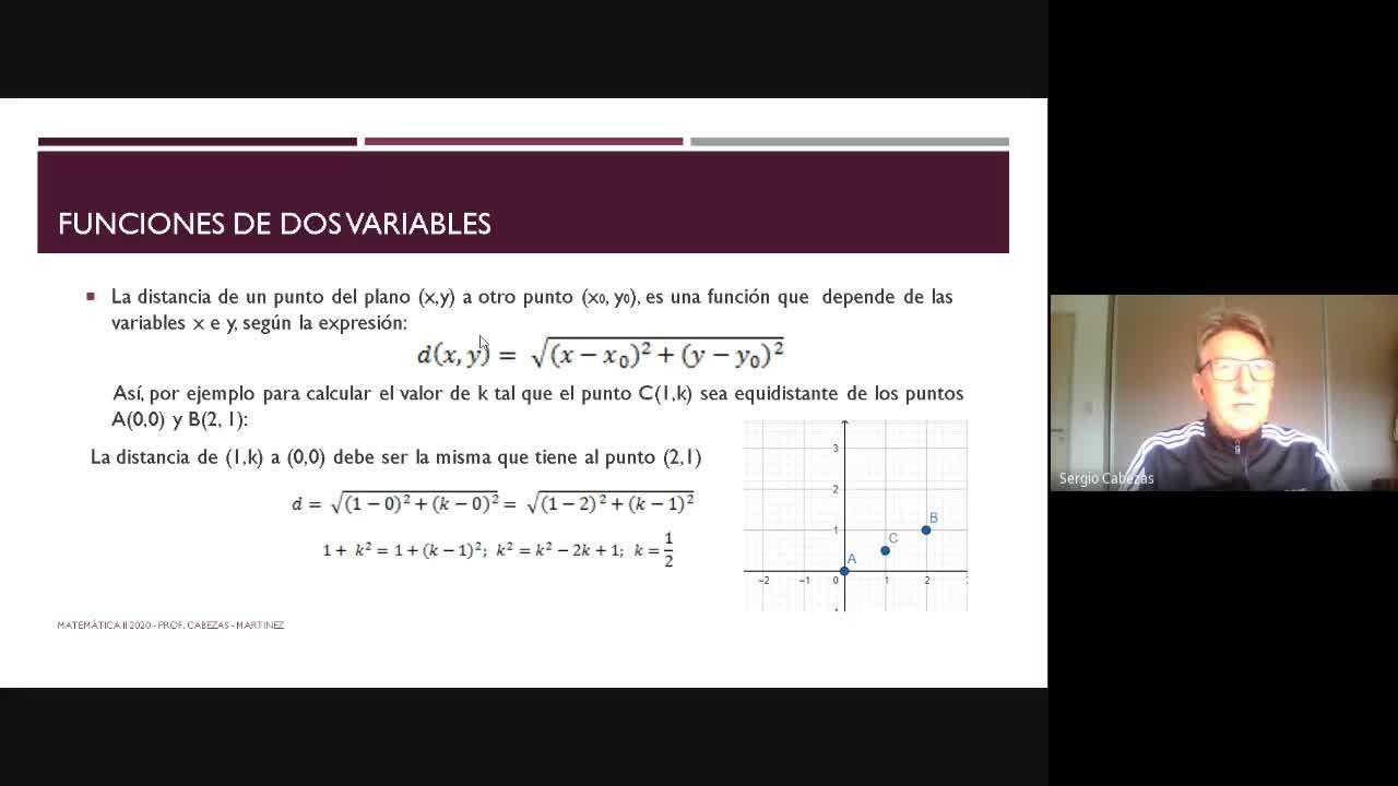 Clase - Funciones de dos variables-29-06- Parte 1