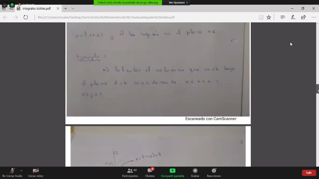 teoria segunda parte Integrales dobles