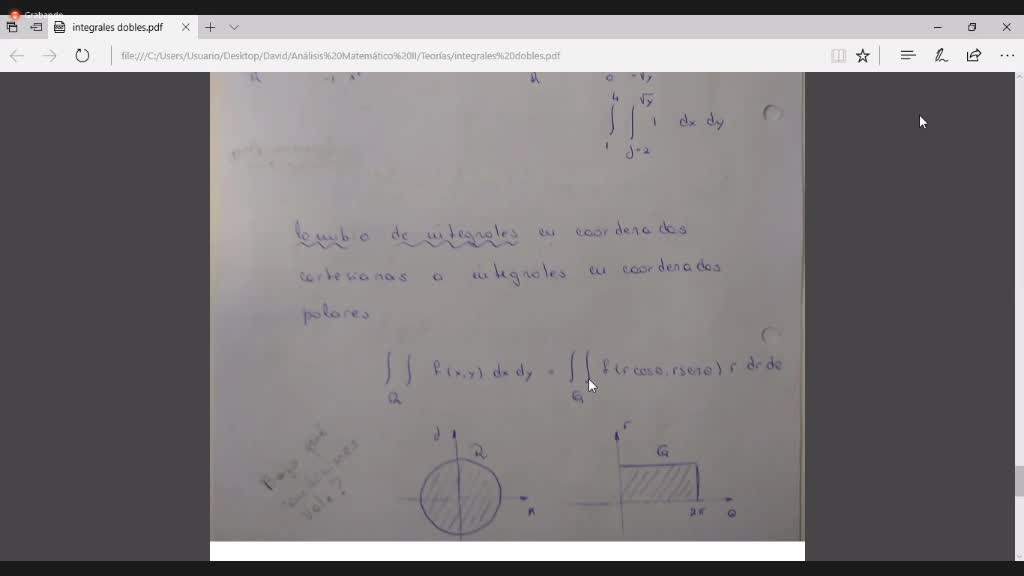 teoria tercera parte Integrales dobles