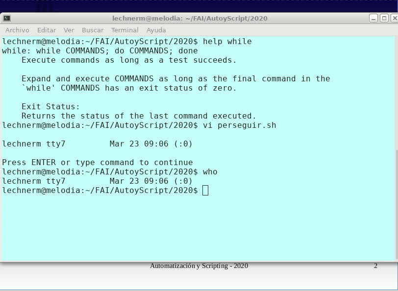 FAI - TUASSL - Automatización y scripting - Clase 4.2 (2020)