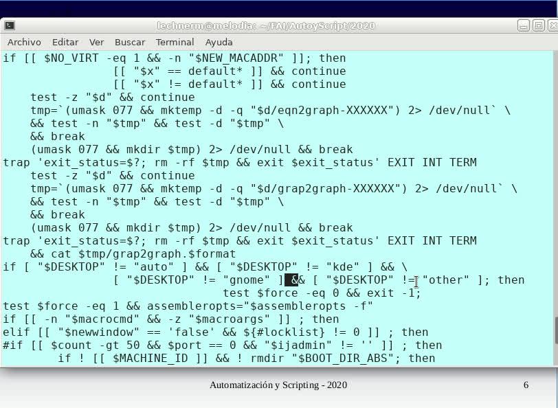 FAI - TUASSL - Automatización y scripting - Clase 4.4 (2020)