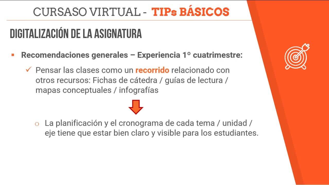 Tips Digitalización - No todo es video clase