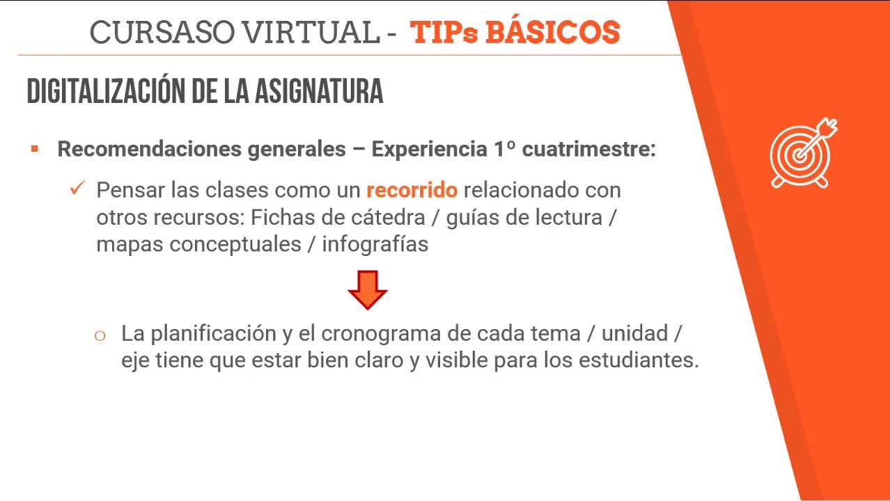Tips Digitalización - No todo es video clase