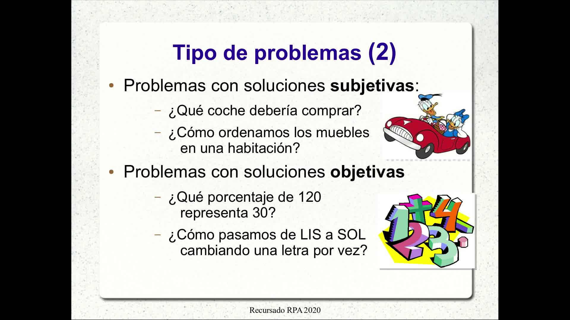 RPA - Video 1.1: Resolución de problemas - Método de Polya