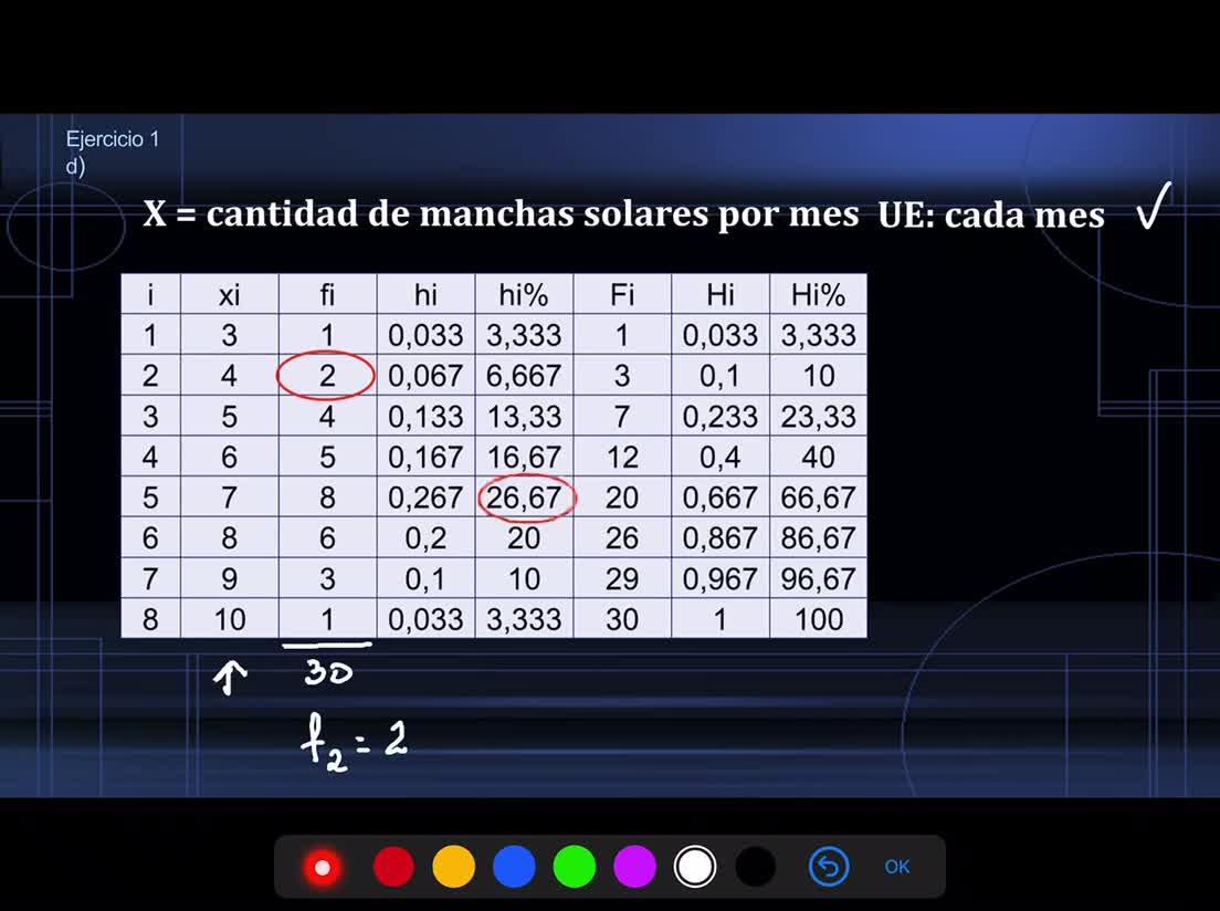 Ingeniería, Probabilidad y estadística, Prof Haique, Ej1_TP1.1