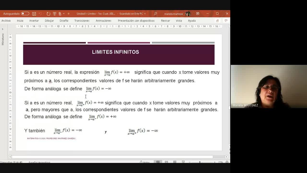 Clase de Matemática II-25-08-2020