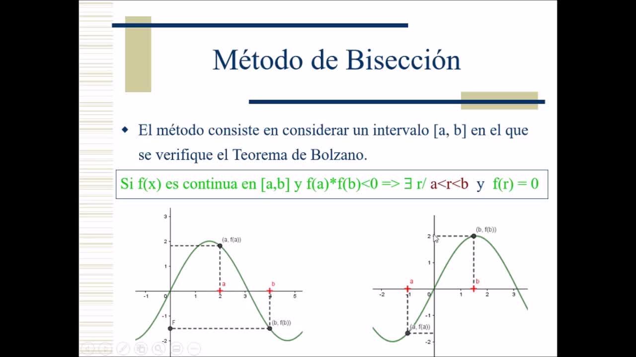 Cálculo Numérico - Video 3: Unidad 2