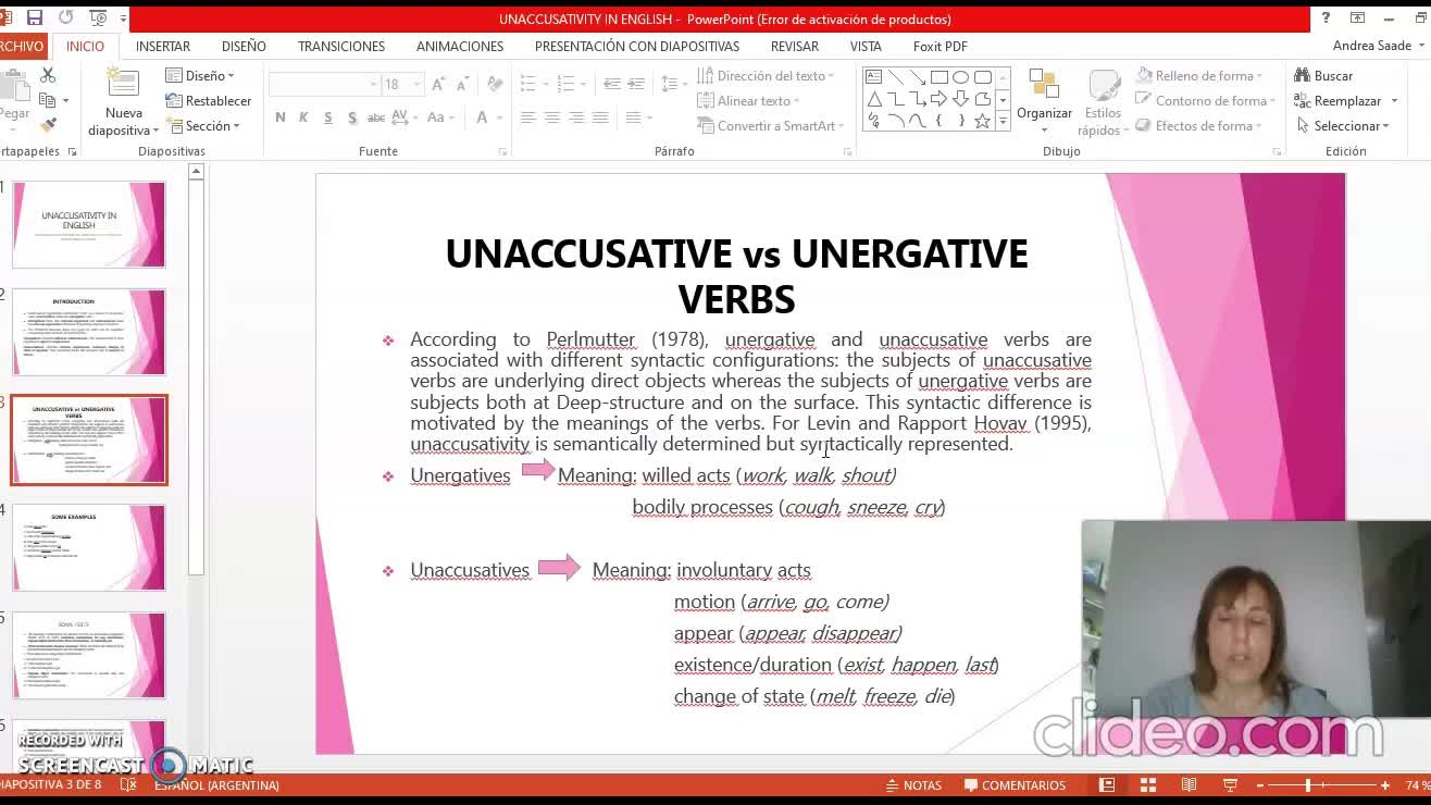 Contrastive analysis 31st August