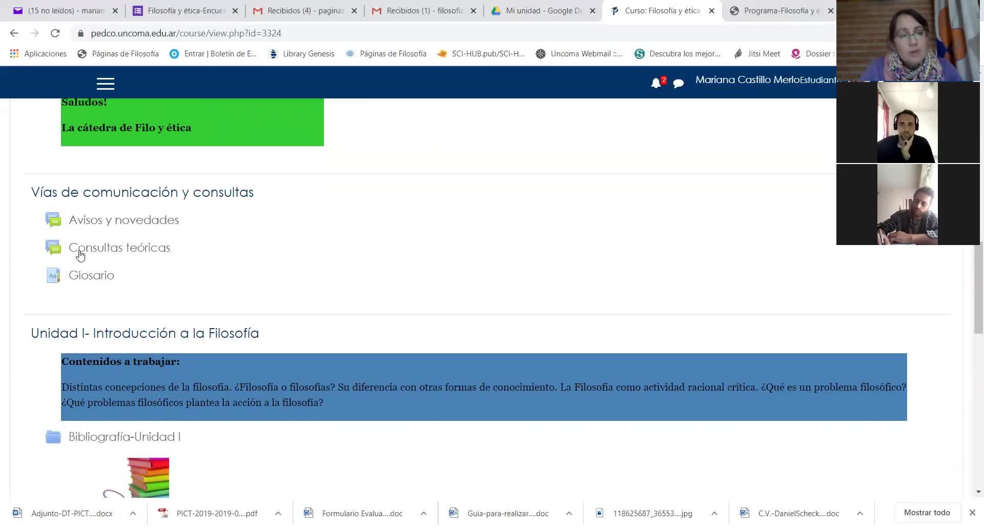 Clase Inaugural-Filosofía y ética-FACIAS-NQN