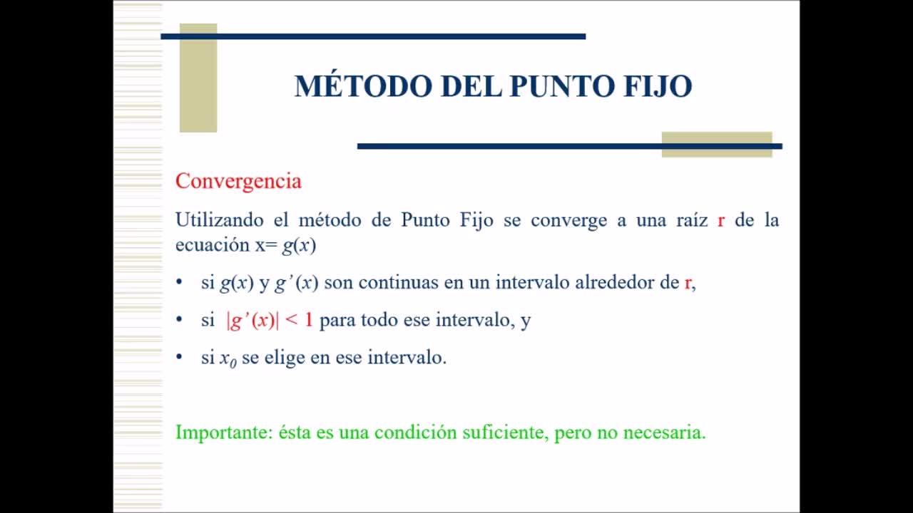 Video 5 - Cálculo Numérico