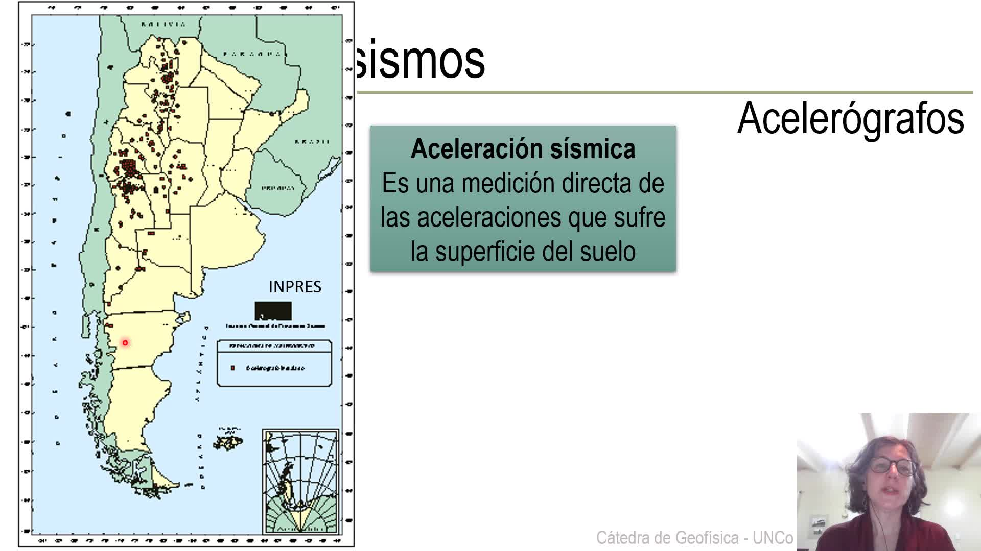 Geofísica - Sismología natural - Clase teórica (2 de2)