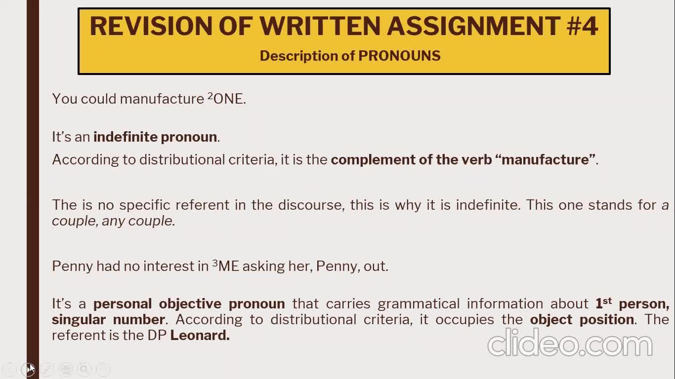ILI Grammar - Lesson August 31st