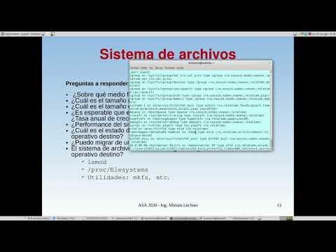 UNCOMA - TUASSL - ASA Almacenamiento 1.5:  sistemas de archivos