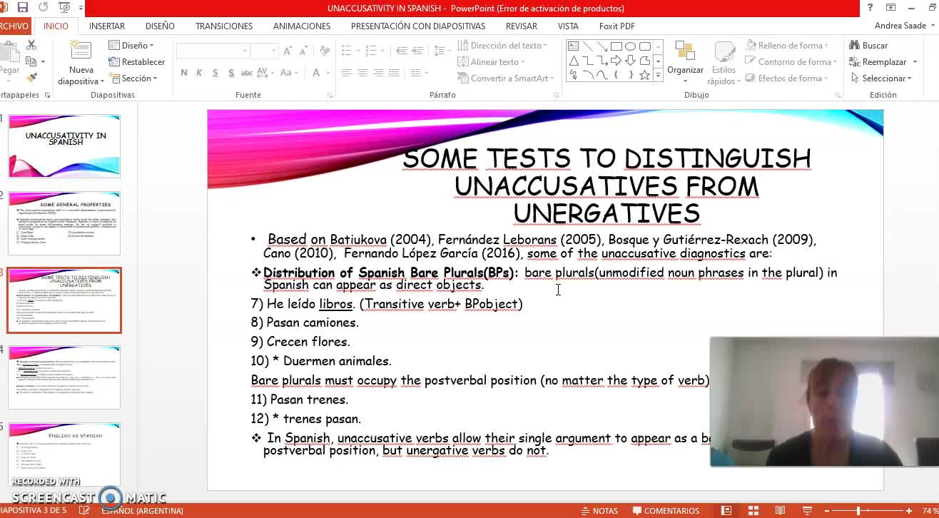 Contrastive analysis 4th september