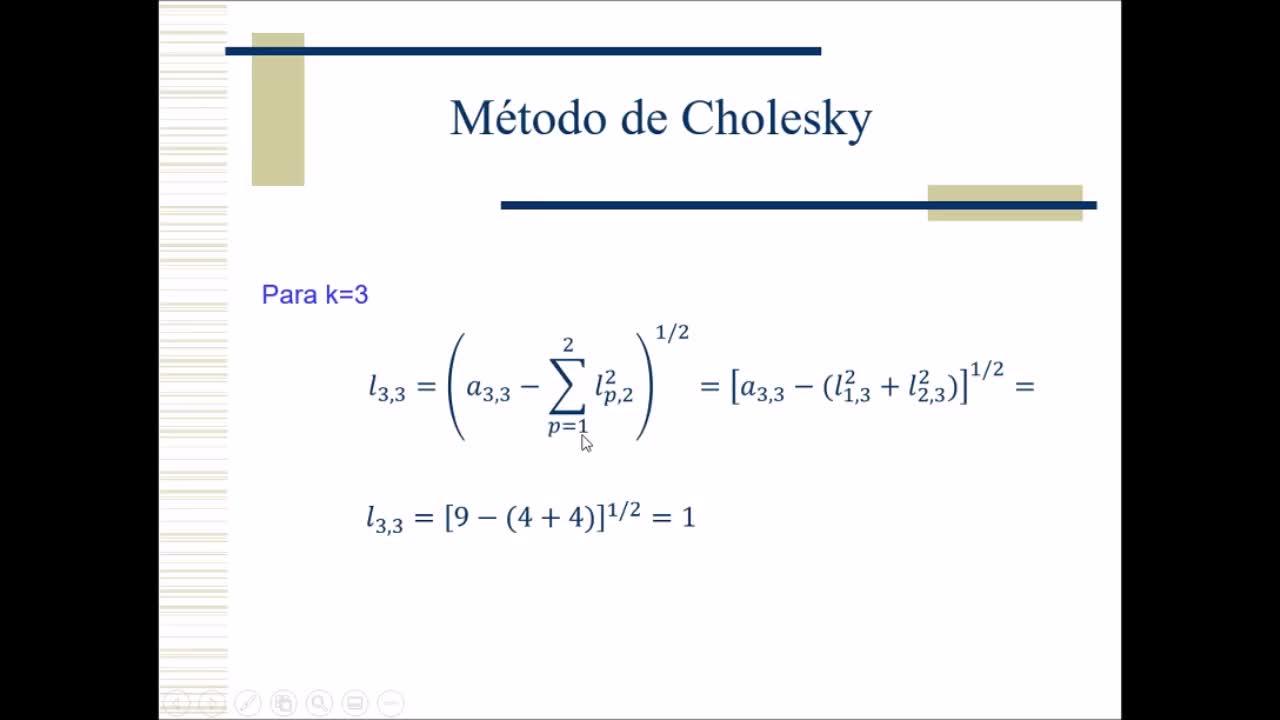 Video 9 - Cálculo Numérico