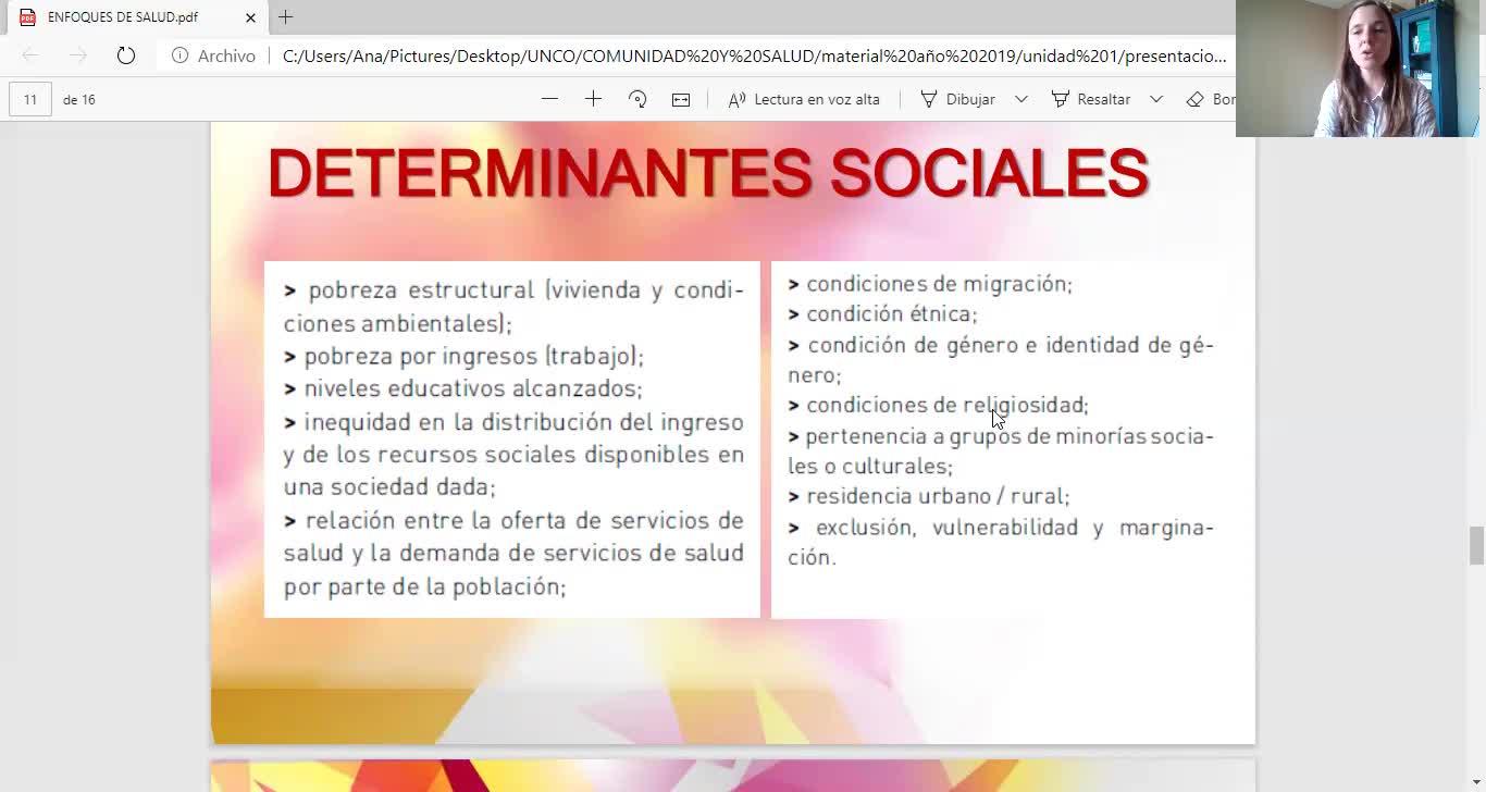 COMUNIDAD Y SALUD/VISION INTERCULTURAL/SALOMONE